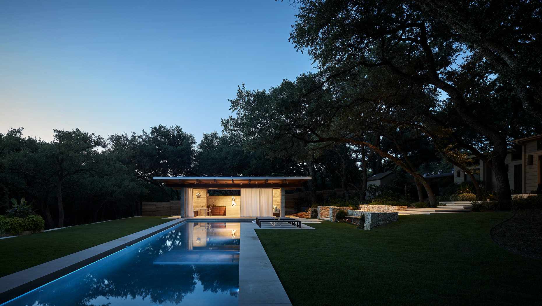 dror baldinger faia architectural photography concrete poolhouse