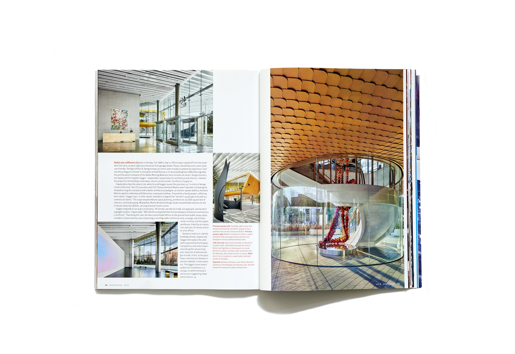 dror baldinger faia architectural photography interior design magazine 400 record dallas texas Gensler