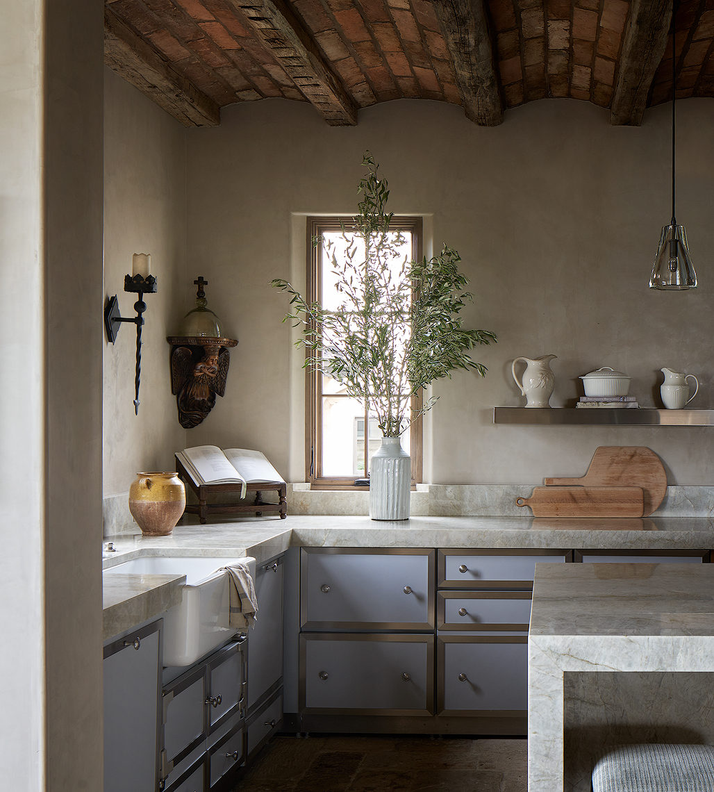 #French kitchen #Dror Baldinger #residential kitchen #traditional homes