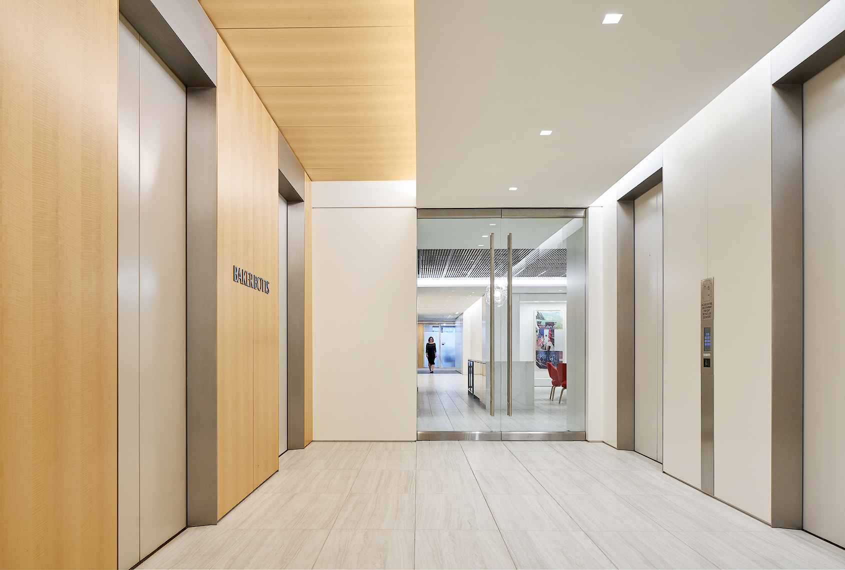 BakerBotts law firm dallas texas bt Gensler photography by Dror Baldinger