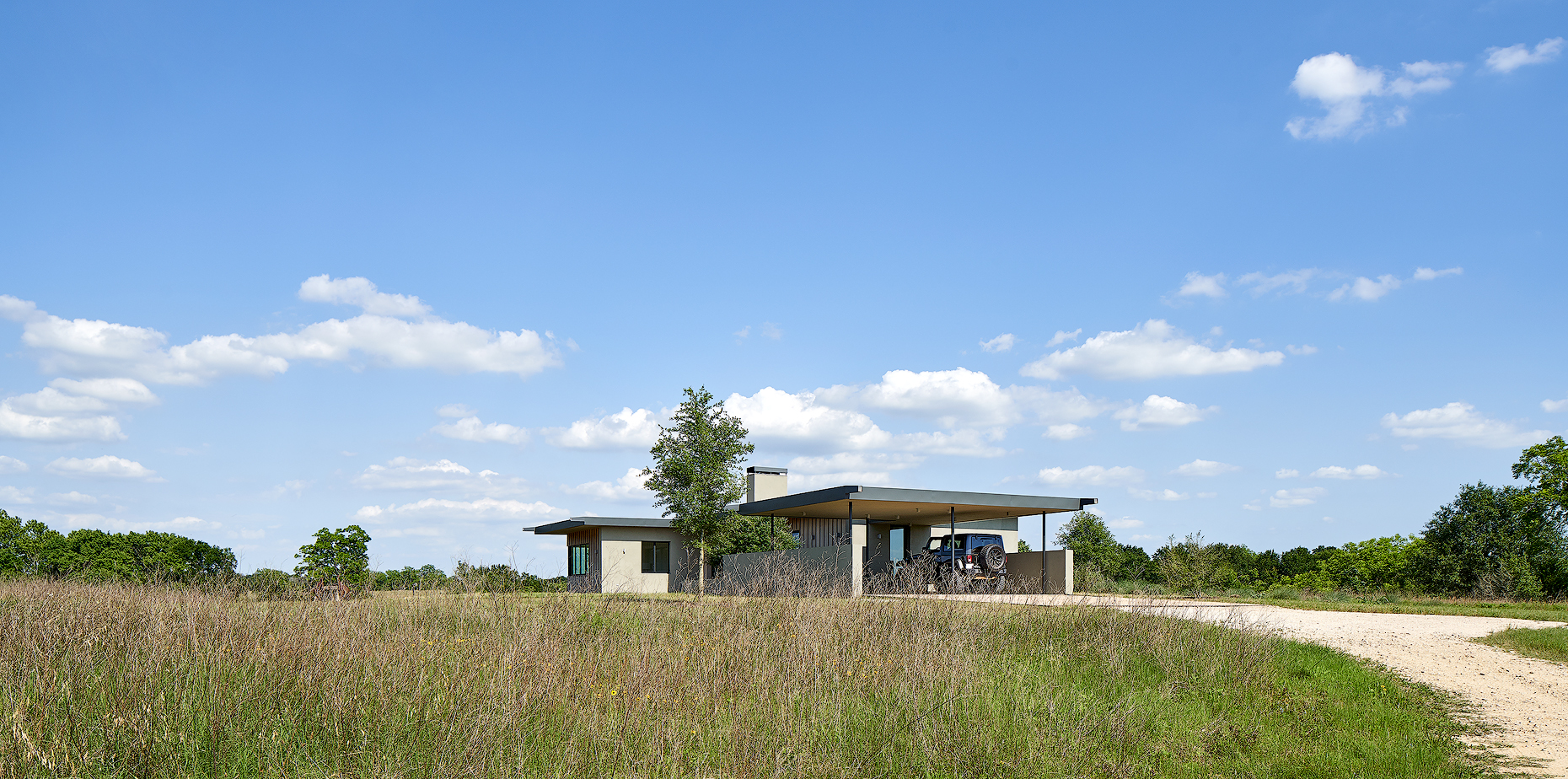 Ranch house Bellville texas Dror Baldinger FAIA photography