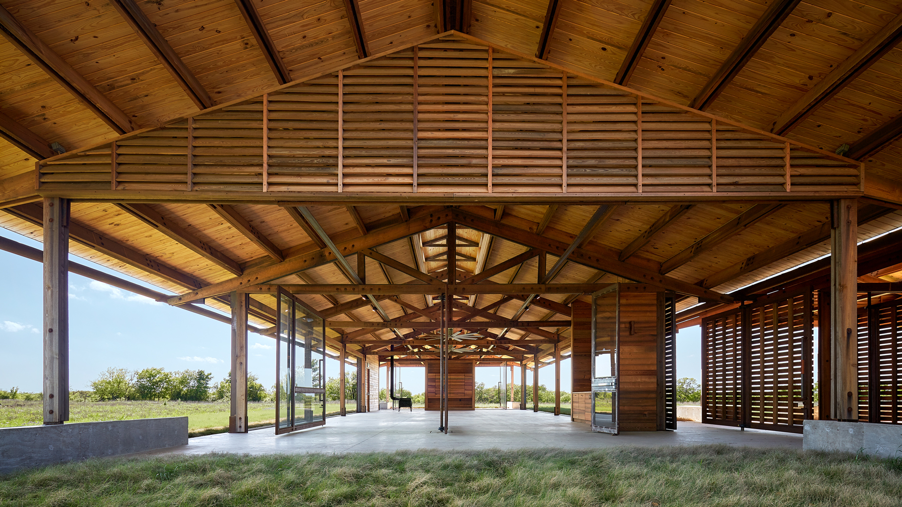 Dror Baldinger FAIA architectural photography water foundation Josey wood pavilion