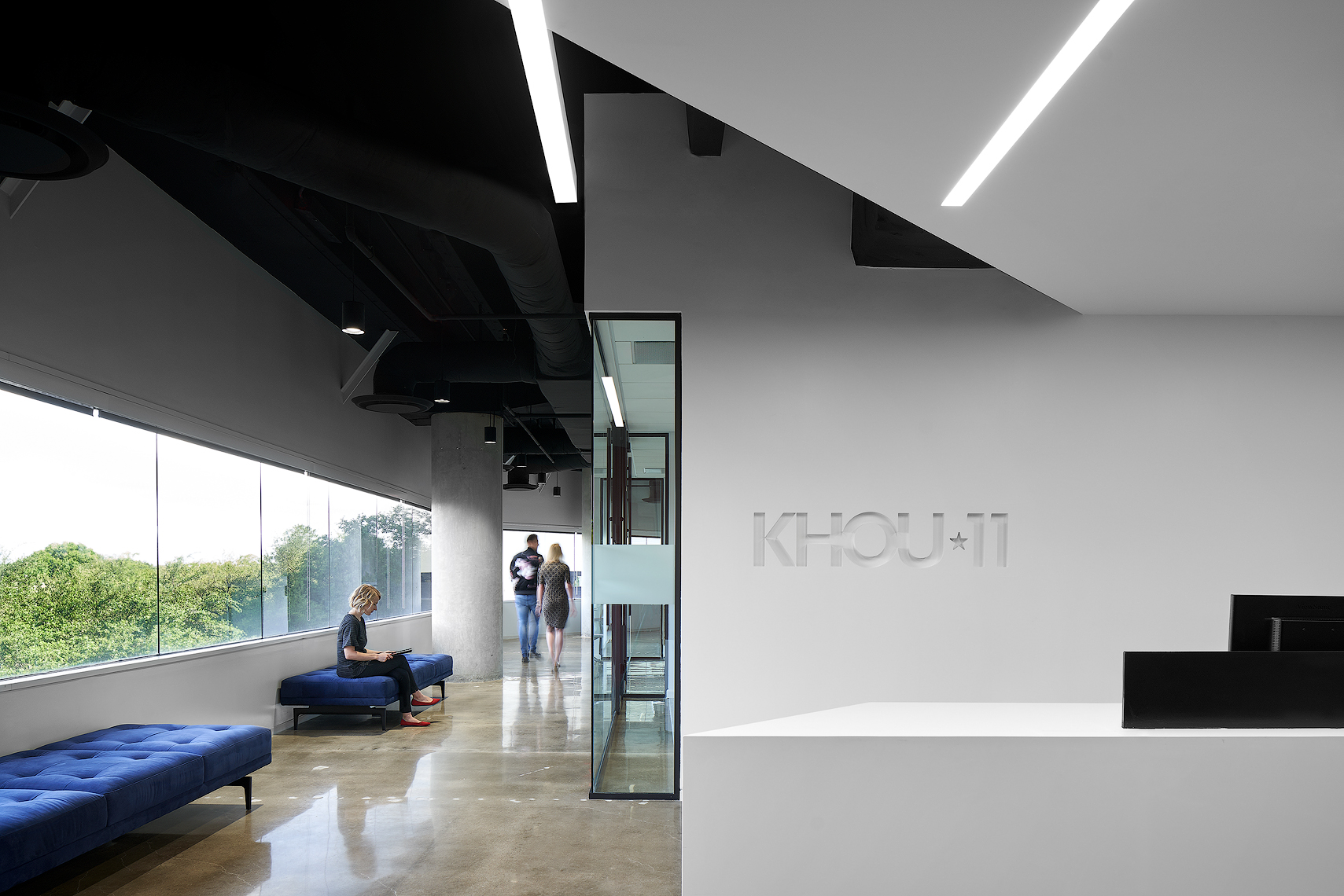 KHOU 11 photography by Dror Baldinger architectural photography