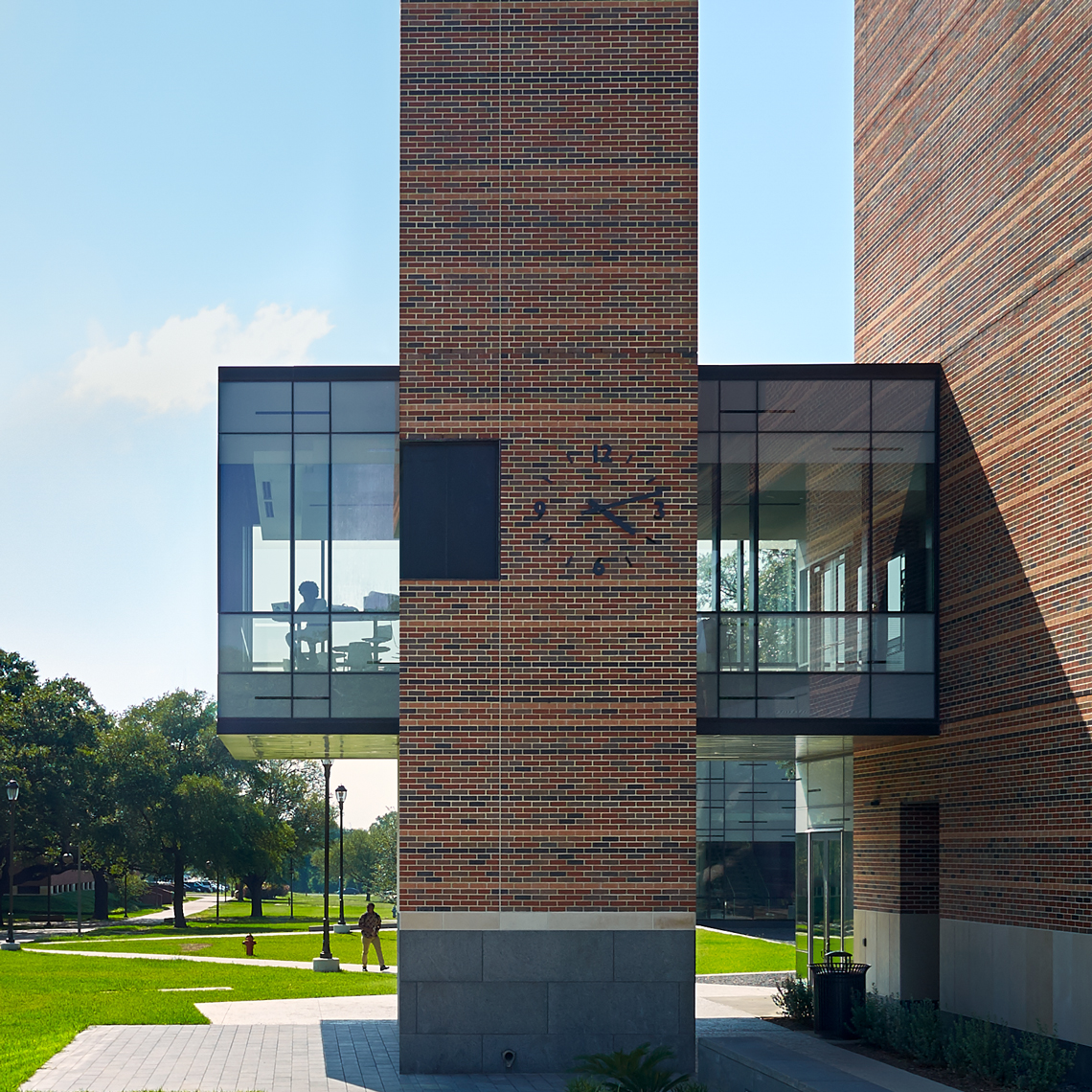 Dror Baldinger FAIA architectural photography at agriculture and business school pvamu