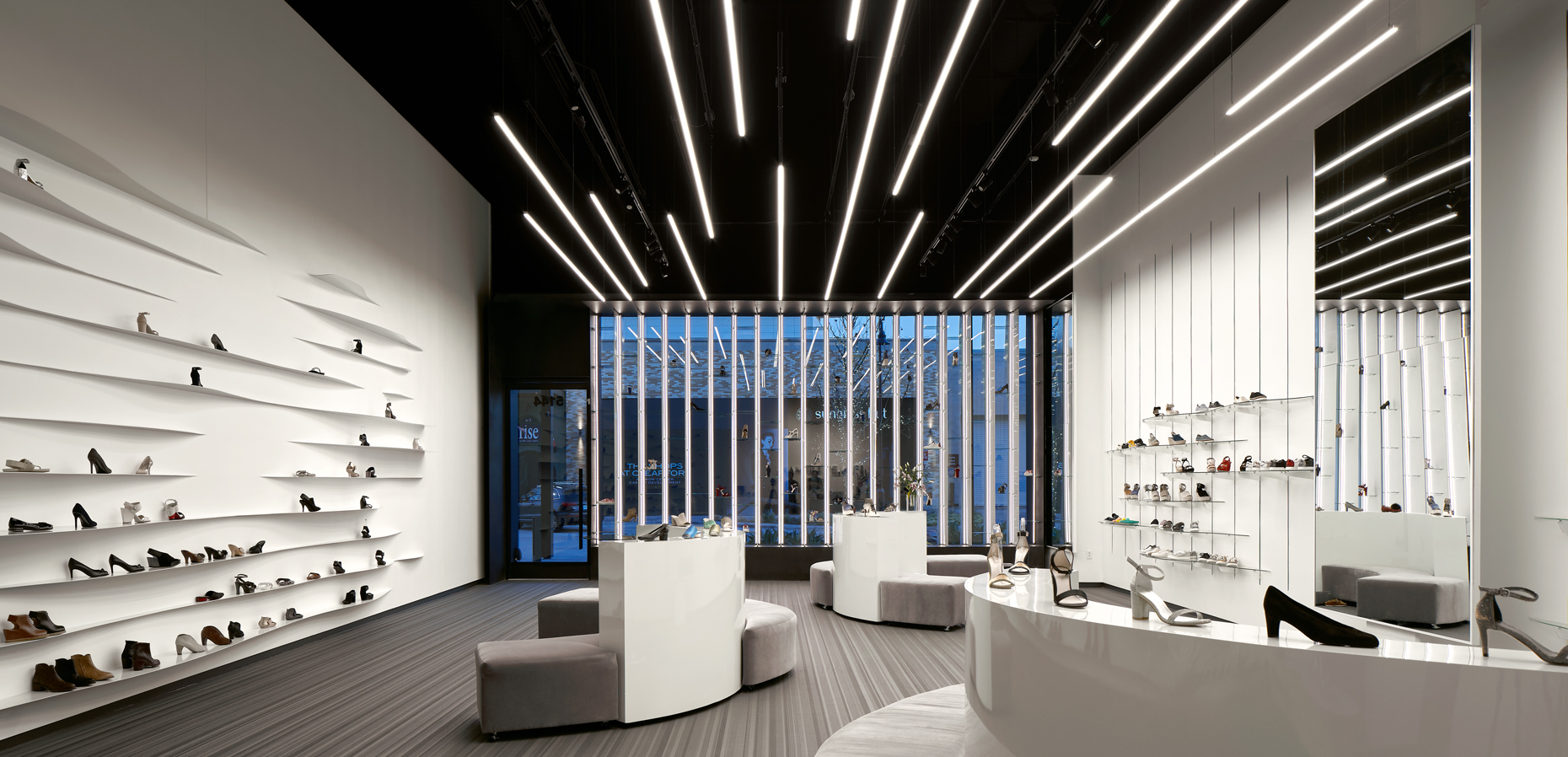 dror baldinger faia photography of eisenman shoe high end retail store